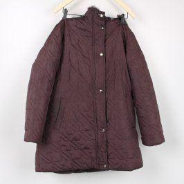 Dámská bunda Wang tmavě hnědá
