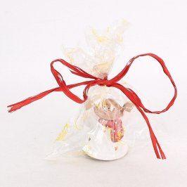 Keramická dekorace anděl