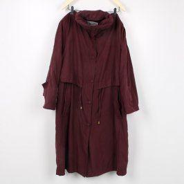 Dámský kabát Canape vínový
