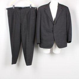Pánský oblek odstín tmavě šedé