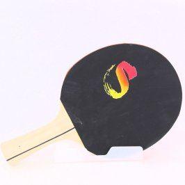 Pingpongová pálka s potiskem písmene S