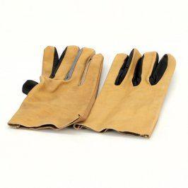 Pracovní rukavice béžové