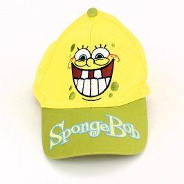 Dětská kšiltovka SpongeBob žluté barvy