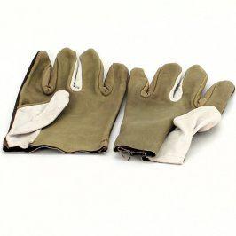 Ochranné pracovní rukavice z kůže a textilu