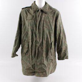 Maskovací kabát s kapucí vzor 60