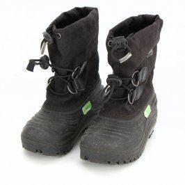 Zimní boty Sorel Matheo černé barvy