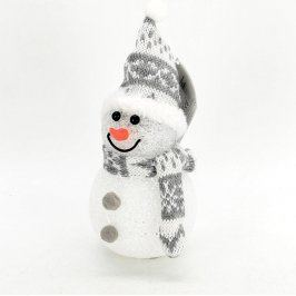 Vánoční dekorace svítící sněhulák
