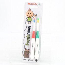 Dětské zubní kartáčky Spar