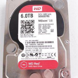 Pevný disk WD WD60EFRX SATAIII 5400ot 6 TB