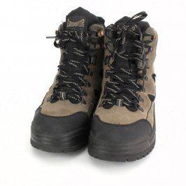 Turistická obuv Landrover černo hnědá