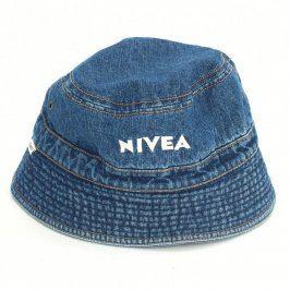 Denimový klobouček Nivea modrý