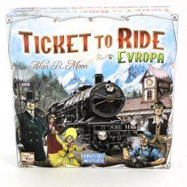 Společenská hra Ticket to Ride Evropa