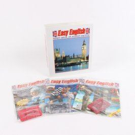 Časopisy Easy English šanon s kazetami