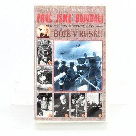 VHS Proč jsme bojovali - Rus.
