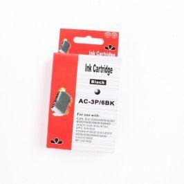 Inkoustová cartridge AC-3P/BK černá