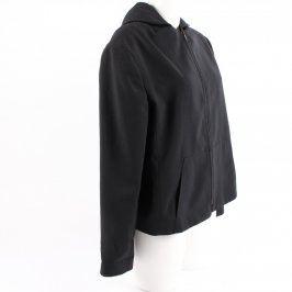 Dámská bunda Fanty černá na zip s kapucí