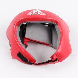 Boxerská přilba Adidas Aiba H1 čerevená