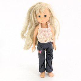 Panenka Simba s dlouhými vlasy
