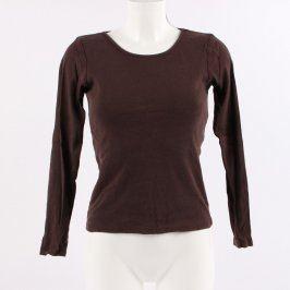 Dámské tričko Fishbone hnědé