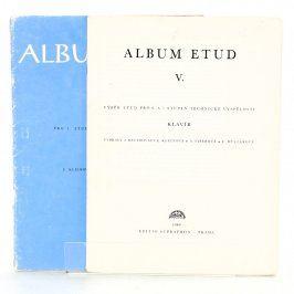 Notové zápisy Album Etud 2 ks