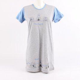 Dámská noční košile Vienetta secret šedá