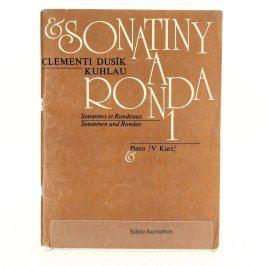 Skladby pro klavír Sonatiny a ronda 1