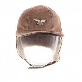 Pánská čepice s kšiltem Arrevola hnědá