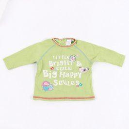 Dětské tričko Next zelené s nápisem