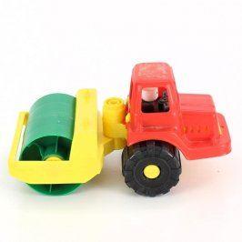 Plastové autíčko: Traktor s válcem