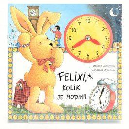 Dětské knihy Felixi, kolik je hodin