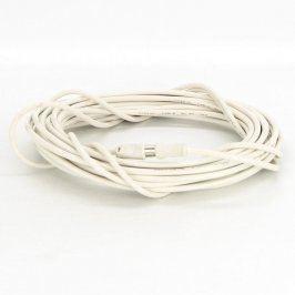 Koaxiální kabel IEC M / IEC F bílý 10 m