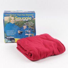Fleecová deka Snuggie s rukávy