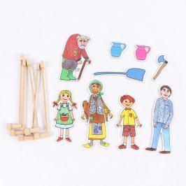 Loutkové divadlo pro děti 5 postav