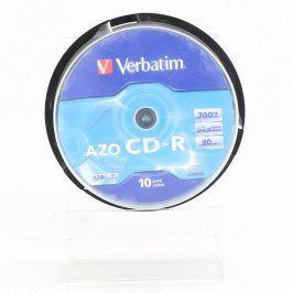 CD-R Verbatim 700 MB 80 minut spindl