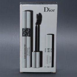 Řasenka Dior + bezbarvá řasenka 3D efekt
