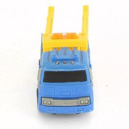 Nákladní auto plastové modro žluté