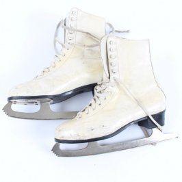 Dámské krasobruslařské boty s bruslemi
