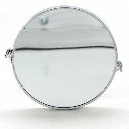 Kulaté kosmetické zrcadlo stříbrné
