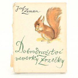 Kniha Dobrodružství veverky Zrz