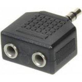 Redukce 1x jack 3,5 mm M / 2x jack 3,5 mm F