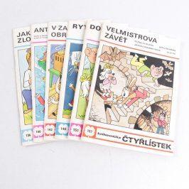 Časopisy knihovnička Čtyřlístek