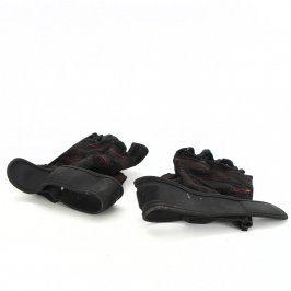 Fitness rukavice černé barvy