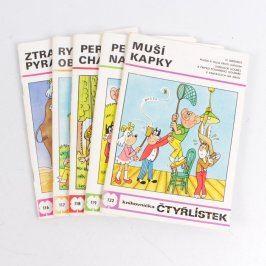 Sbírka časopisů knihovnička Čtyřlístek