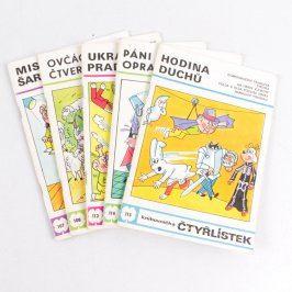 Sada časopisů Čtyřlístek 5 ks