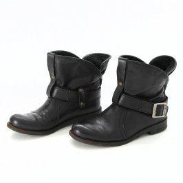 Dámské kotníkové boty Buffalo černé
