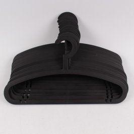 Ramínka na oblečení černá 10 ks