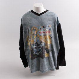 Dětské tričko Next černé Robot wars