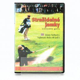 DVD film Strašidelné jamky světového golfu