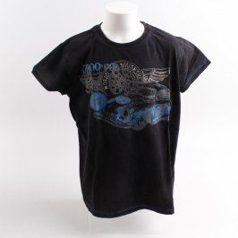 Dětské tričko Sam černé s potiskem