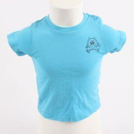 Dětské tričko Dopodopo Mini modré s lebkou